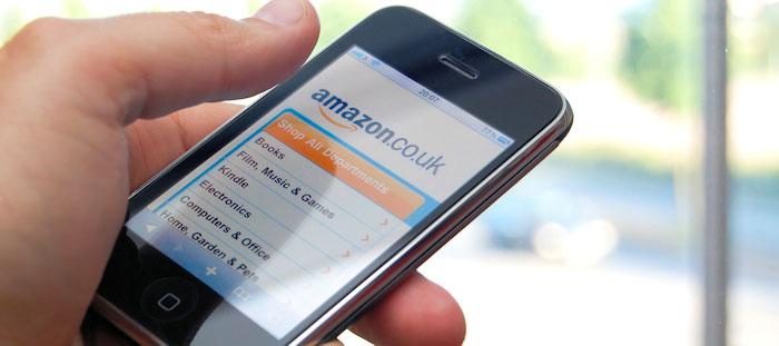 Ett av fem köp på nätet sker via mobila enheter