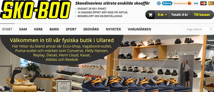 Skandinaviens största skoaffär lanserar E-handel