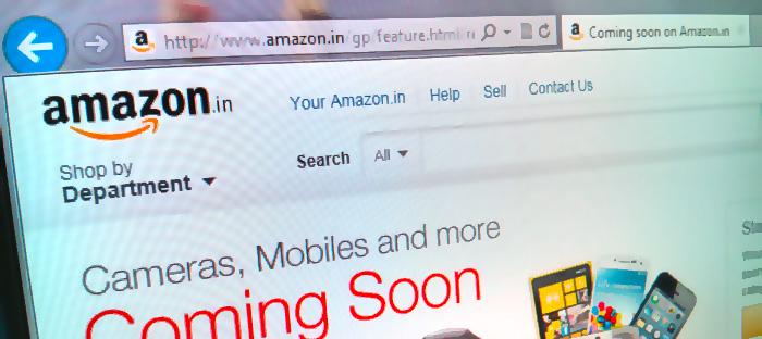 Amazon smyglanserar sin marknadsplats i Indien