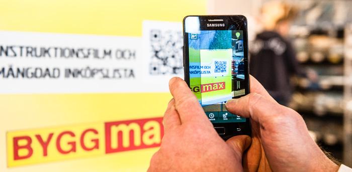 E-handeln skall förenkla butikshandeln för Byggmax