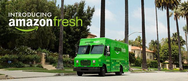 Amazons livsmedelstjänst nu live i Los Angeles