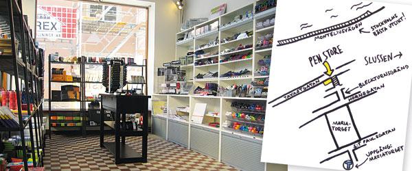 Pen Store vässar konceptet med nytt pennparadis