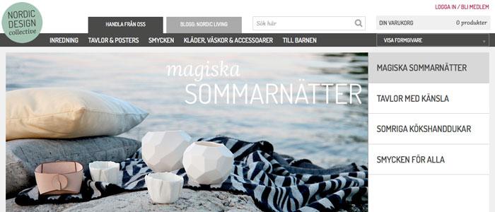 Nordic Design Collective ska inspirera med ny sajt