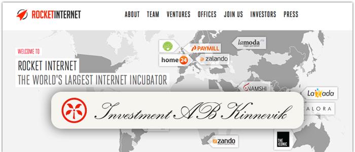 Kinnevik satsar 580 miljoner på Rocket Internet