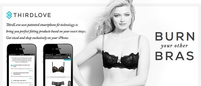 iPhone app hjälper dig att shoppa rätt BH-storlek