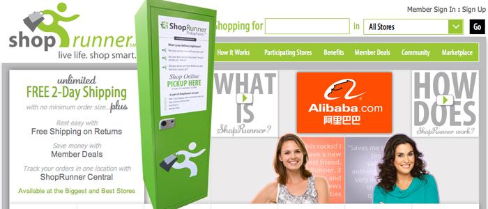 Alibaba Group köper in sig i amerikanska ShopRunner