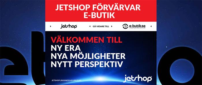 Jetshop köper E-butik (uppdaterad)