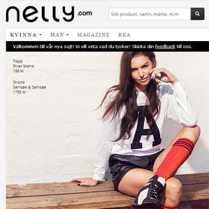 Nelly.com lanserar en smidigare nätbutik
