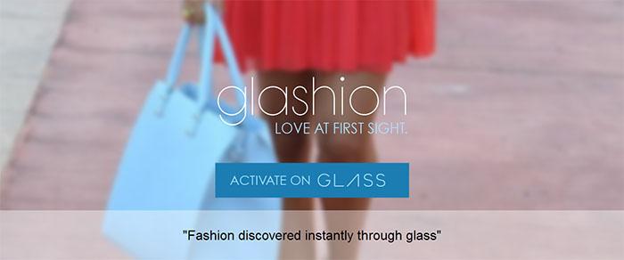 Shoppa fashion med Google Glass och Glashion