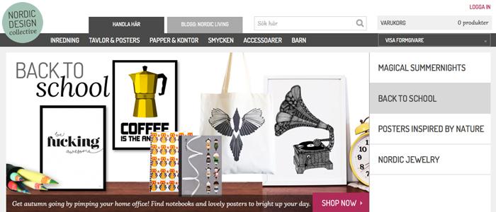 Nordic Design Collective lanserar internationell butik