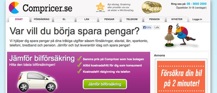 Schibsted köper Compricer för 135 miljoner kronor