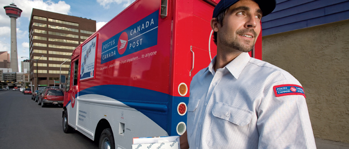 Kanadensiska posten satsar på snabba leveranser