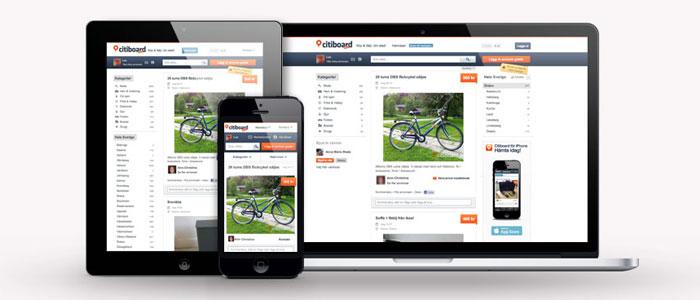 Digitala loppmarknaden Citiboard lockar investerare