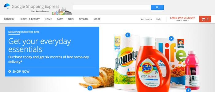 Googles snabba leveranser rullas ut i större skala