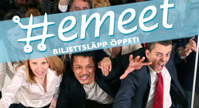 Emeets biljettsläpp nu öppet för E-handlare!