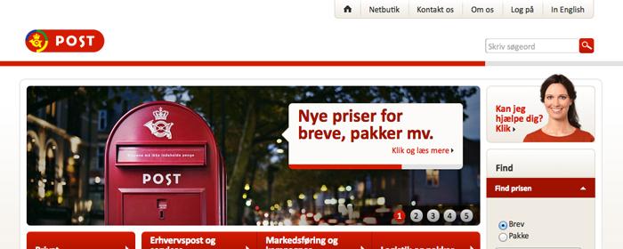 Portohöjning i Danmark ett hot mot E-handeln
