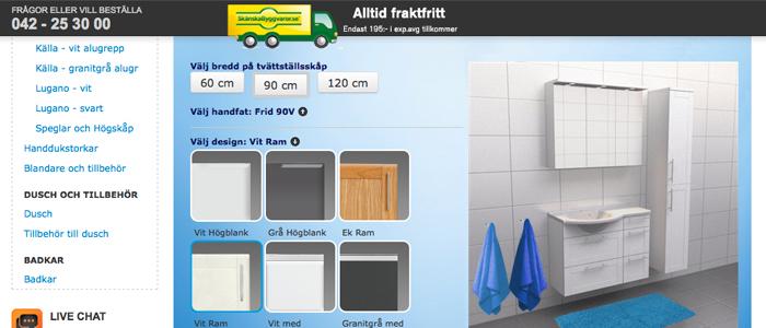 Fixa badet med Skånska Byggvarors nya webbguide