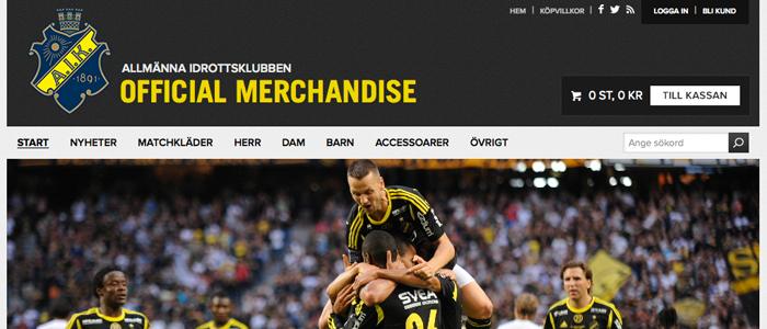 AIK:s nya E-handel knyter samman alla säljkanaler