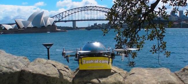 Australiensisk E-handlare satsar på drönarleveranser