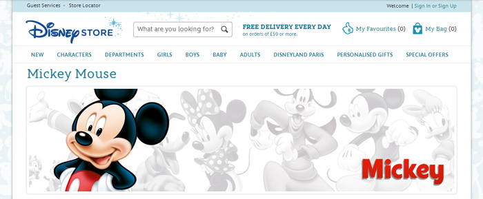 Disneys nätbutik kommer till Sverige och Danmark