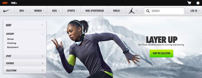 Nike ska omsätta $2 miljarder på nätet år 2017