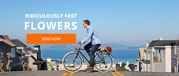 En blomstrande idé som inte är helt ute och cyklar