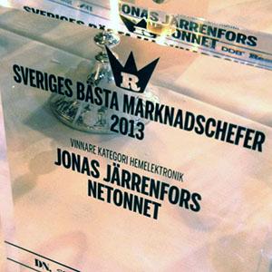 NetOnNet har en av Sveriges bästa marknadschefer