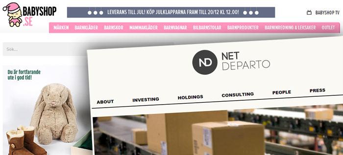 Babyshop.com tar in nytt kapital och investerare