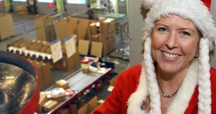 Årets E-jul går mot nytt rekord meddelar Schenker
