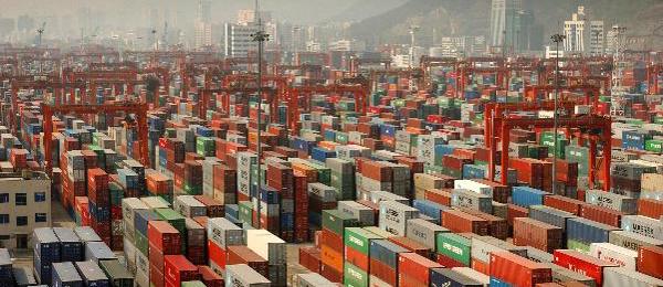 Kinas växande E-handel driver på logistiken
