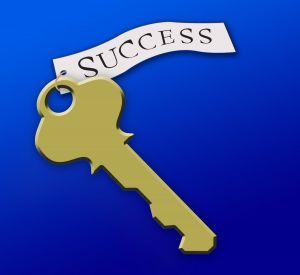 Text nyckeln till framgång