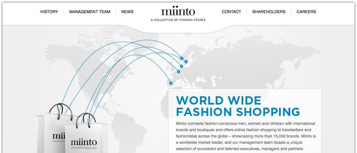 Miinto lockade tre miljoner besökare i december