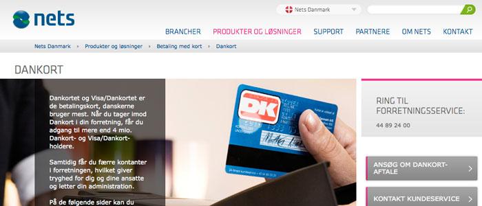 Dankortet gick varmt i den danska E-handeln 2013