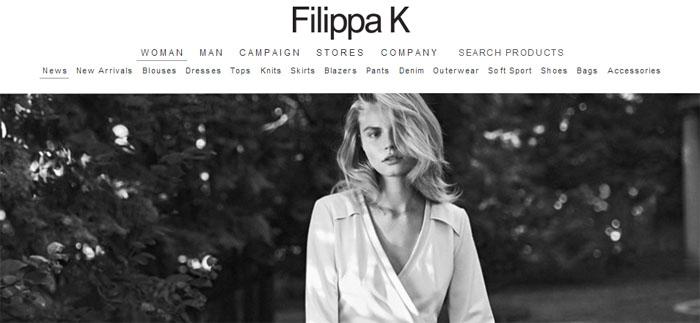 Filippa K planerar E-handel innan sommaren