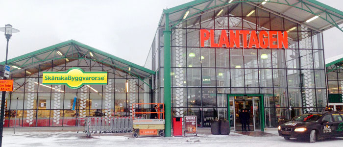 Skånska Byggvaror öppnar showrooms hos Plantagen