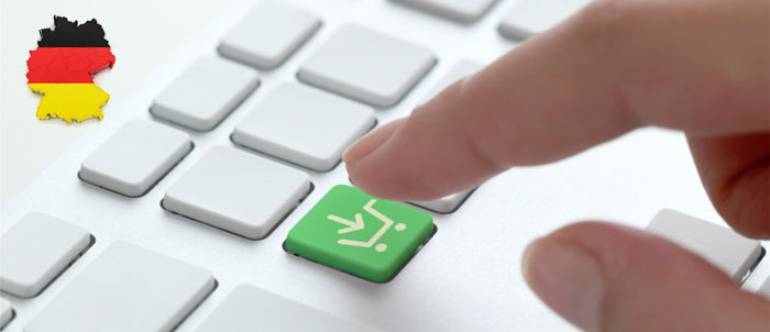 Den tyska E-handeln ökade med 42 procent under 2013