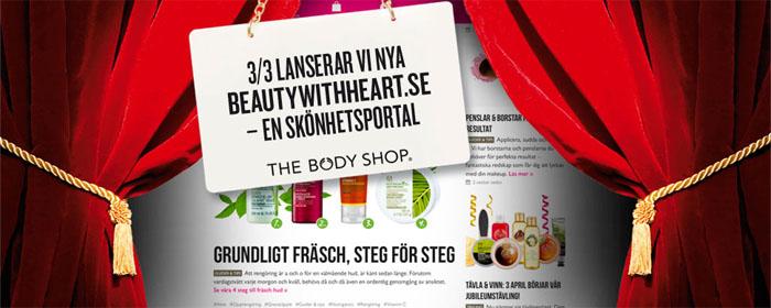 The Body Shop lanserar digital innehållsportal
