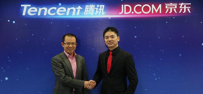 Tencent köper 15 procent av E-handelsjätten JD.com