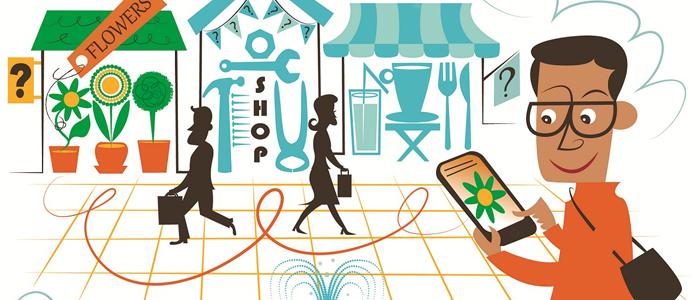 Allt fler kunder navigerar nätet med mobilen