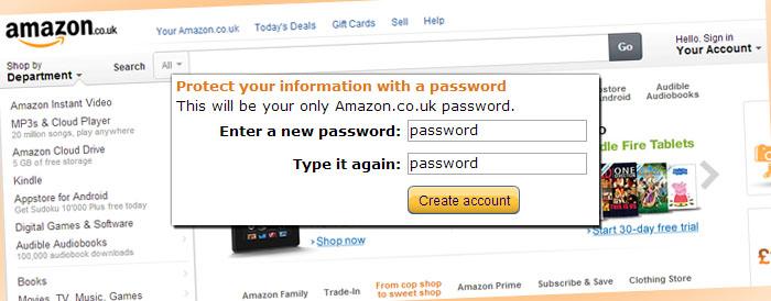 E-handlare är dåliga på att hantera lösenord