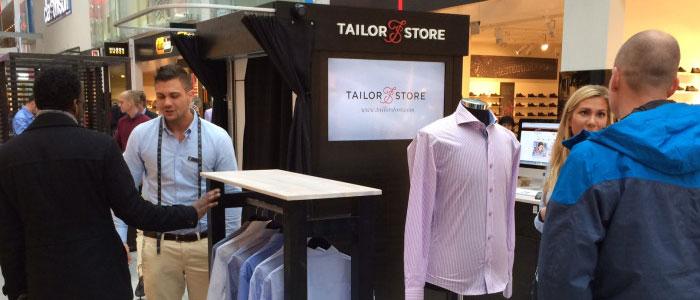 Tailor Store poppar upp i Kista med fysisk butik