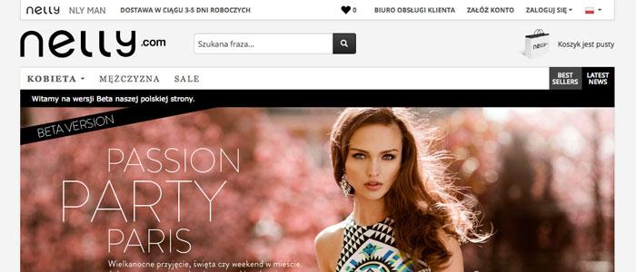 Nelly lanserar två lokala nätbutiker i Polen
