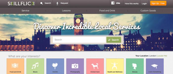 Ny E-marknadsplats slår ett slag för lokala tjänster