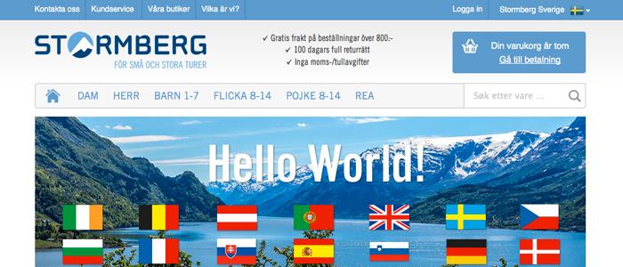 Norsk E-handlare hoppas ta världen med storm