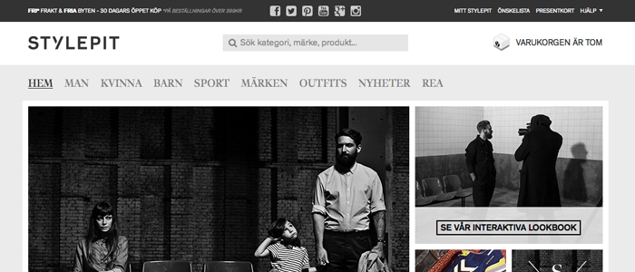 Stylepit lanserar interaktiv kampanj och ny identitet