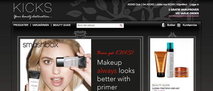 Skönhetskedjan har fått en riktig Kick-start på nätet