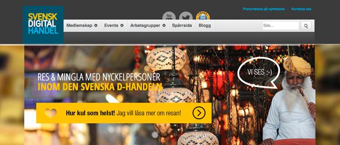 Resebranschen blir en del av Svensk Digital Handel