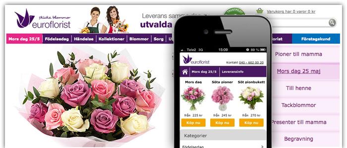 Blombud i mobilen har blivit ett naturligt val