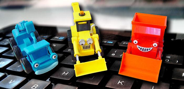 Leksaksförsäljningen på nätet vinner allt mer mark