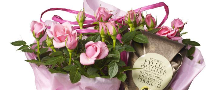Blommor i mobilen slog nytt rekord under Mors dag